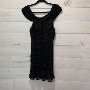 MAJORELLE BLACK DRESS